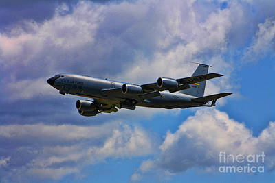 Modern Kitchen - KC-135 Fly by by Tommy Anderson