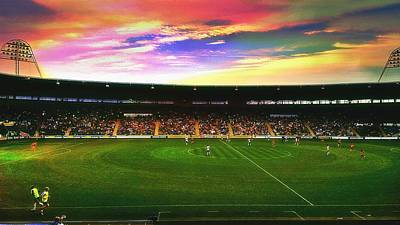 Edit Photograph - Kc Stadium In Kingston Upon Hull England by Chris Drake