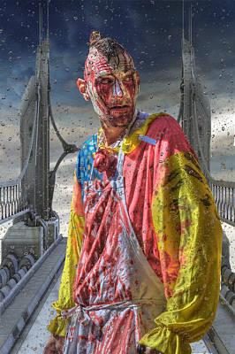 Photograph - Kc Zombie Walk  by Liane Wright