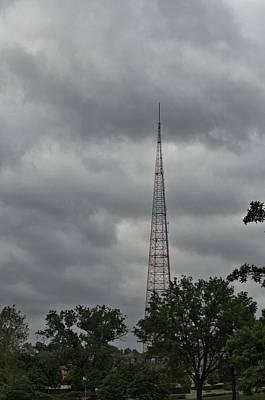 Photograph - Kctv  Transmitter Tower Kansas City by Tim McCullough