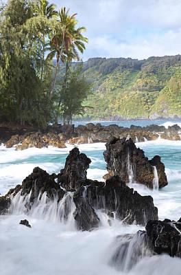 Hawaii Photograph - Keanae Lava Rock by Jenna Szerlag
