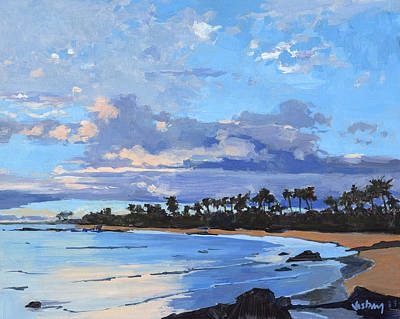 Keawakapu Sunset Original by Stacy Vosberg