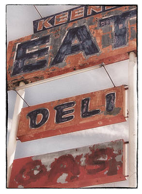 Photograph - Keene Cafe by Mary Jane Utley