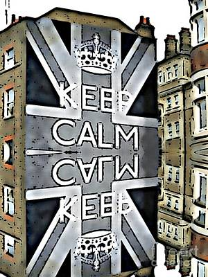 Carry On Art Photograph - Keep Calm Architecture  by Daryl Macintyre