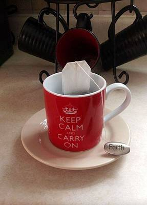 Photograph - Keep Calm And Carry On by Deborah Finley