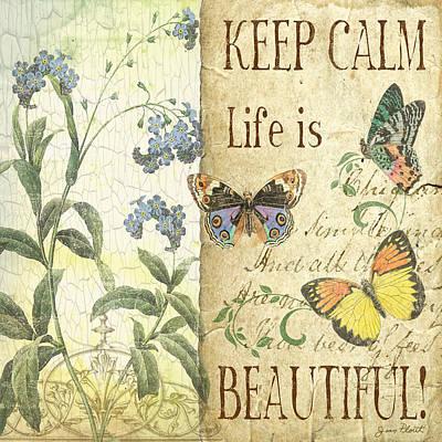 Keep Calm-life Is Beautiful Original
