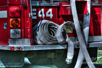 Fireground Photograph - Keep Fire In Your Life No 11 by Tommy Anderson