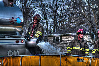 Fireground Photograph - Keep Fire In Your Life No 12 by Tommy Anderson