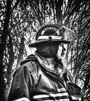 Fireground Photograph - Keep Fire In Your Life No 3 by Tommy Anderson