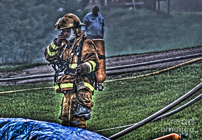 Fireground Photograph - Keep Fire In Your Life No 5 by Tommy Anderson