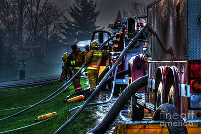 Fireground Photograph - Keep Fire In Your Life No 6 by Tommy Anderson