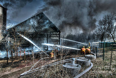Fireground Photograph - Keep Fire In Your Life No 9 by Tommy Anderson
