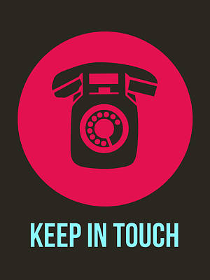 Cool Digital Art - Keep In Touch 1 by Naxart Studio