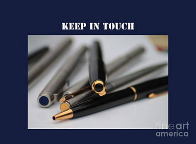 Keep In Touch Photograph - Keep In Touch by Michelle Orai