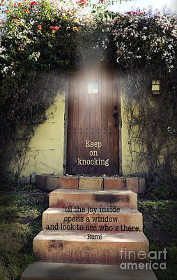 Inspirational Photograph - Keep On Knocking by Stella Levi