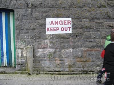 Keep Out Aran Islands Ireland Art Print