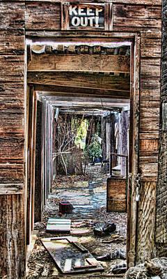 Photograph - Keep Out By Diana Sainz by Diana Raquel Sainz