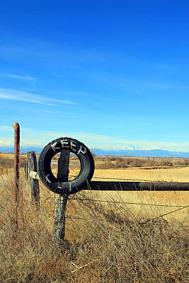 Colorado Photograph - Keep Out- Jennifer Robin by Jennifer Robin