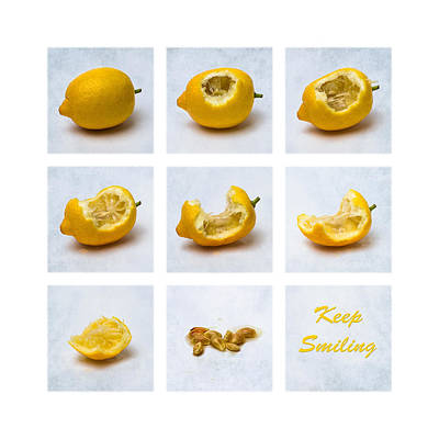 Sour Photograph - Keep Smiling by Alexander Senin