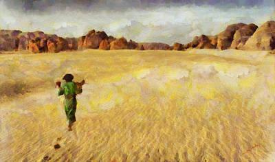 Colorful Painting - Keep Walking by George Rossidis