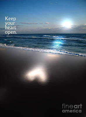 Photograph - Keep Your Heart Open by Jeffery Fagan