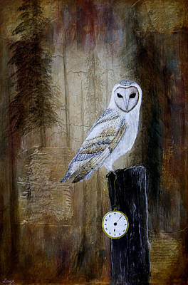 Painting - Keeper Of Time by Gray  Artus