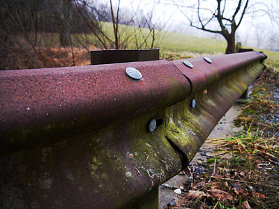 Photograph - Keeping Out Of The Ditch by Richard Reeve