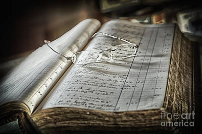 Photograph - Keeping The Books by Vicki DeVico