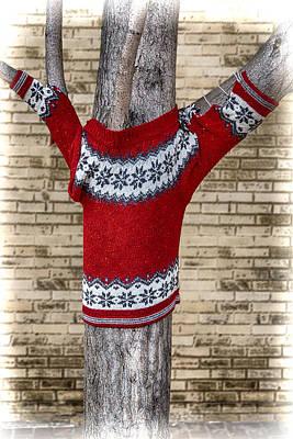The Trees Mixed Media - Keeping The Trees Warm by John Haldane