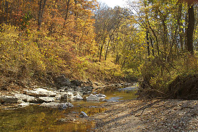 Photograph - Keifer Creek In The Ozarks by Garry McMichael