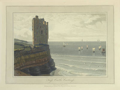 Keiss Castle In Caithness Art Print