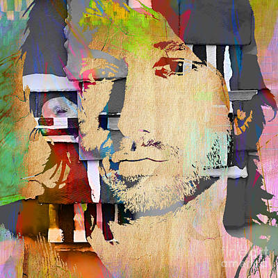 Keith Mixed Media - Keith Urban Collection by Marvin Blaine