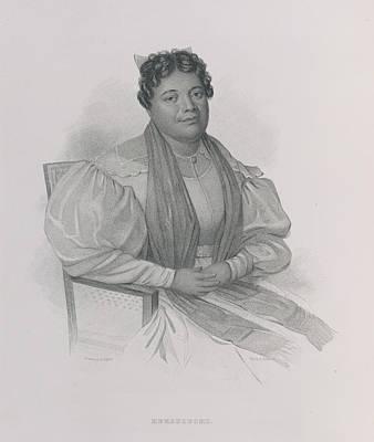 Narrative Portrait Photograph - Kekauluohi by British Library