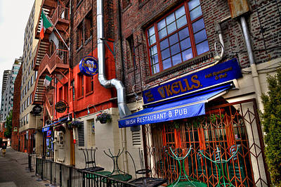 Kell Photograph - Kells Irish Restaurant And Pub - Seattle Washington by David Patterson