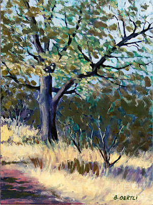 Painting - Kelly Ridge Trail by Barbara Oertli