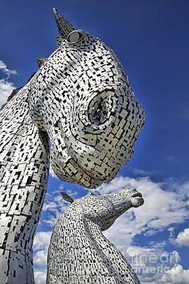 Photograph - Kelpies by Craig B