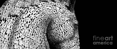 Mythological Photograph - Kelpies by Tim Gainey
