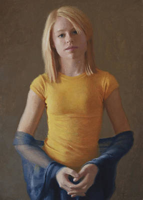 Youthful Painting - Kelsey by Charles Pompilius