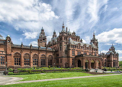 Kelvingrove Art Gallery And Museum Art Print