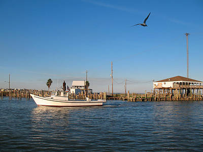 Photograph - Kemah Texas After Hurricane Ike by Connie Fox