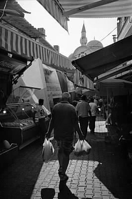 Kemeralti Bazaar In Izmir Print by Ilker Goksen