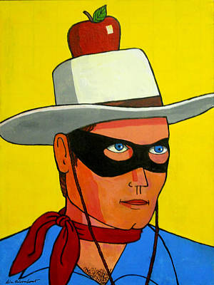 Lone Ranger Painting - Kemosabe And Rossini by Ken Bloomhorst