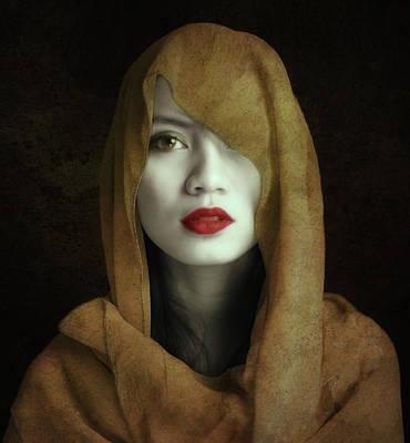 Veils Photograph - Kemuning by Hari Sulistiawan