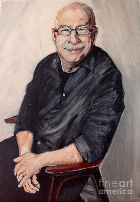 Painting - Ken Bruce by Michelle Deyna-Hayward