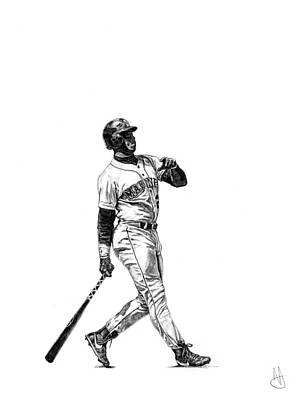 Ken Griffey Jr. Art Print