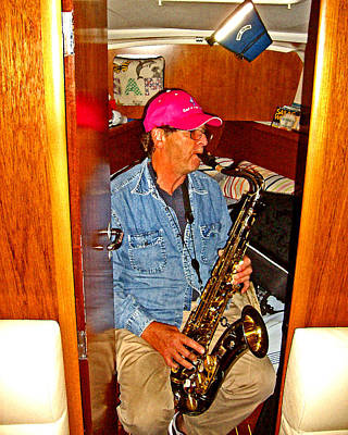 Photograph - Ken On Sax Plays 4 Floyd by Joseph Coulombe