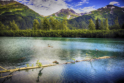 Kenai Alaska Lake Art Print