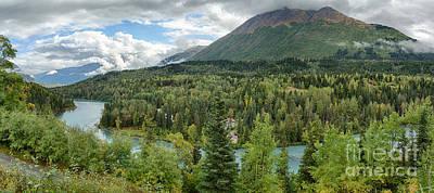 Kenai River Alaska Art Print by Paul Karanik