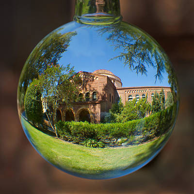 Photograph - Kendal Hall Chico State University by Robert Woodward