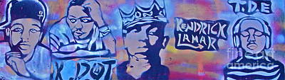 Music Royalty-Free and Rights-Managed Images - Kendrick K Dot Lamar by Tony B Conscious